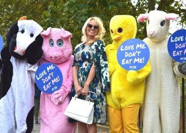 Pamela Anderson Animals Vegan