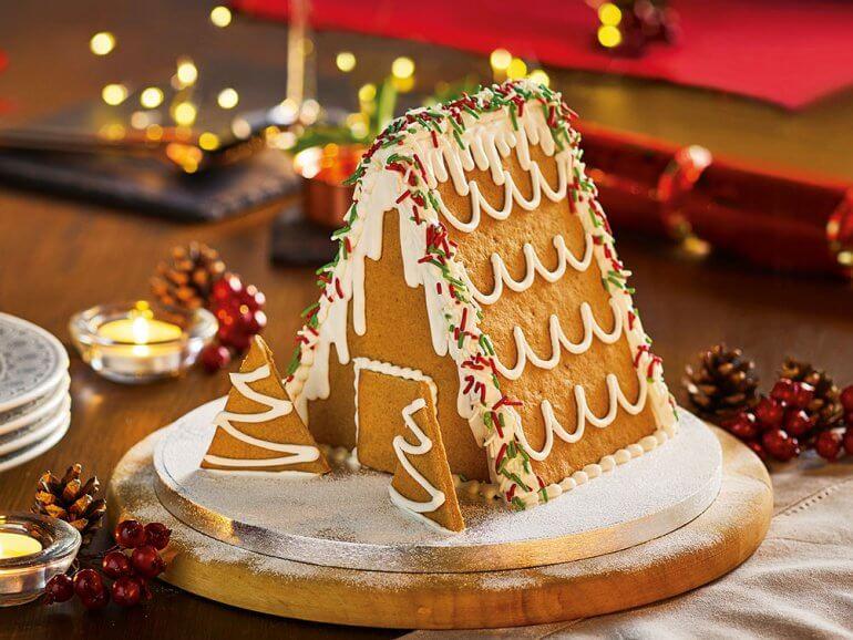 ASDA Free From Gingerbread House Kit Vegan