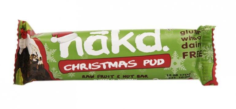 Nakd Christmas Pudding Bar Vegan