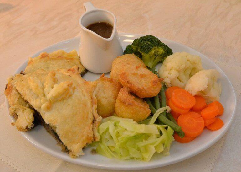 Star Inn Isle of Wight Vegan Christmas Menu