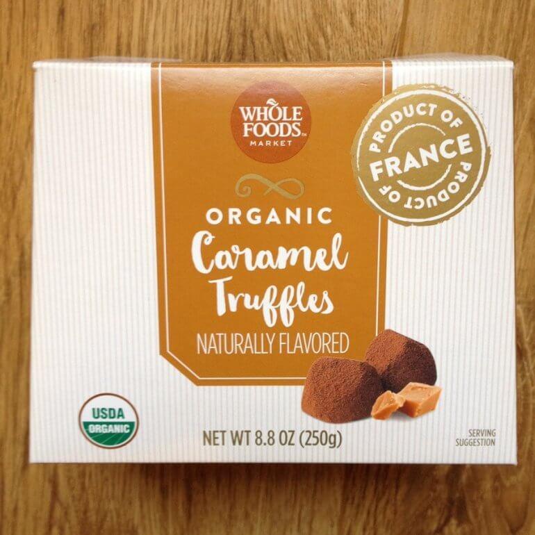 Whole Foods Caramel Trufffles
