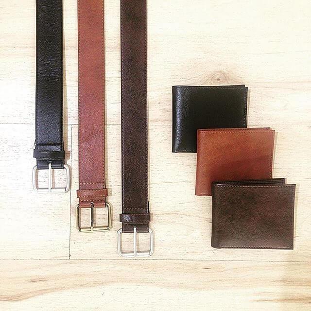 Wills Vegan Shoes Mens Fashion Belt Wallet