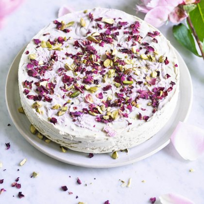 Recipe: Raspberry and Lemon Ripple Cheesecake From Niomi Smart's Cookbook