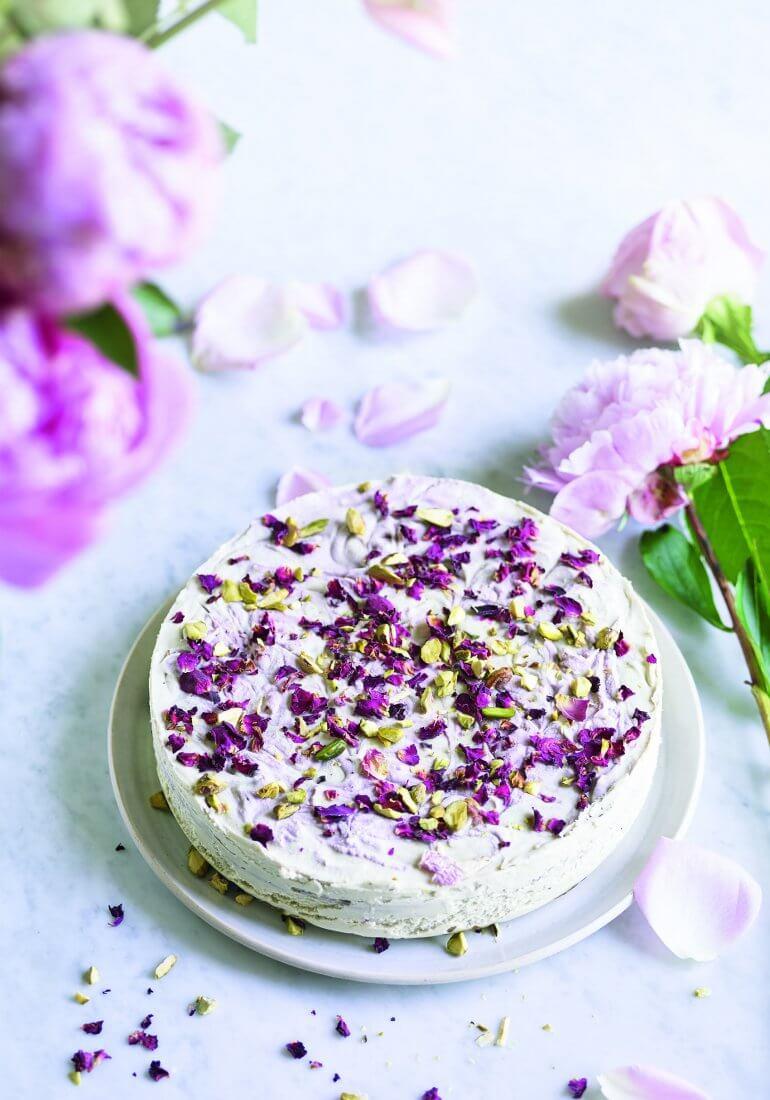 Niomi Smart Eat Smart Vegan Cheesecake Recipe Raspberry Lemon