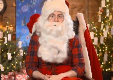 Santa Goes Vegan?!