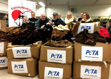 Unwanted Furs Sent to People in Need This Winter