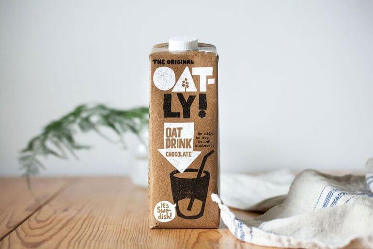 Vegan Chocolate Oatly Oat Drink Chocolate