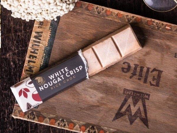 Vegan Chocolate Vivani White Nougat Crisp