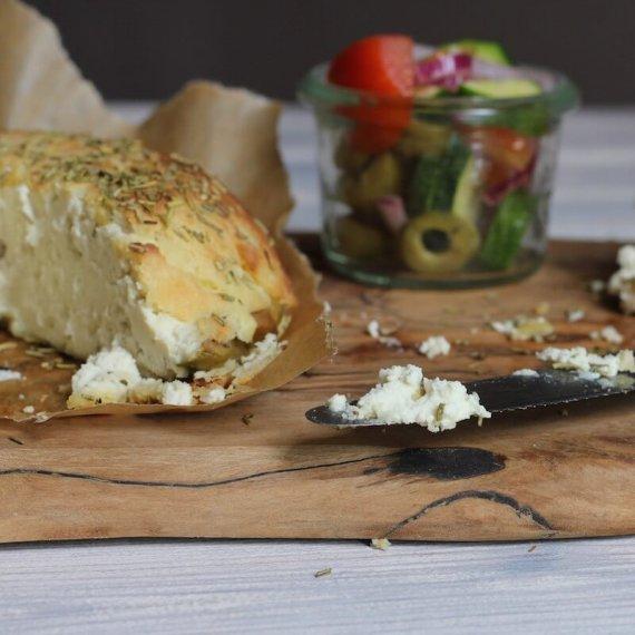 Rosemary-Baked Almond Cream Cheese