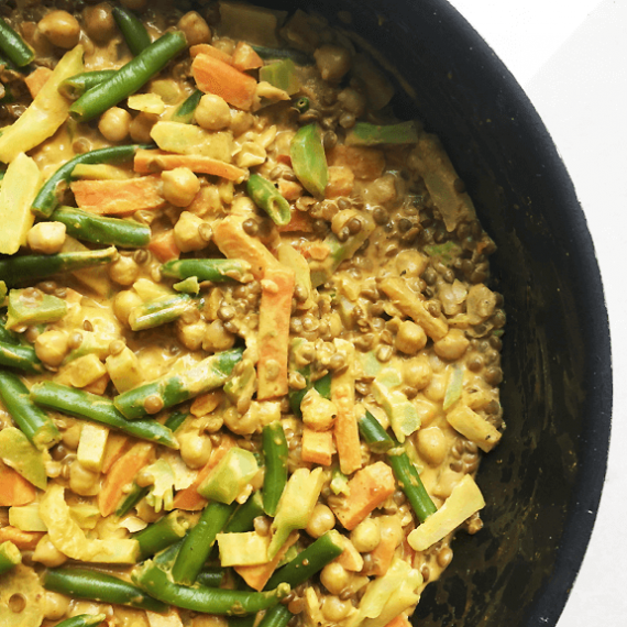Lentil and Chickpea Curry