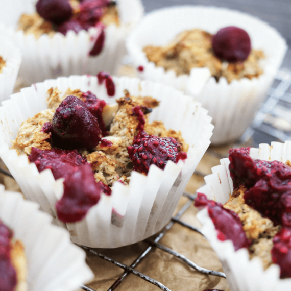 Oat and Almond Breakfast Muffins
