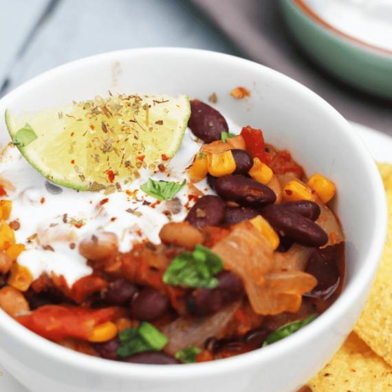 Creamy Mexican Bean Soup