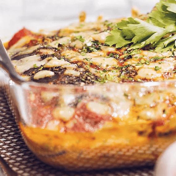 Vegan Parmigiana