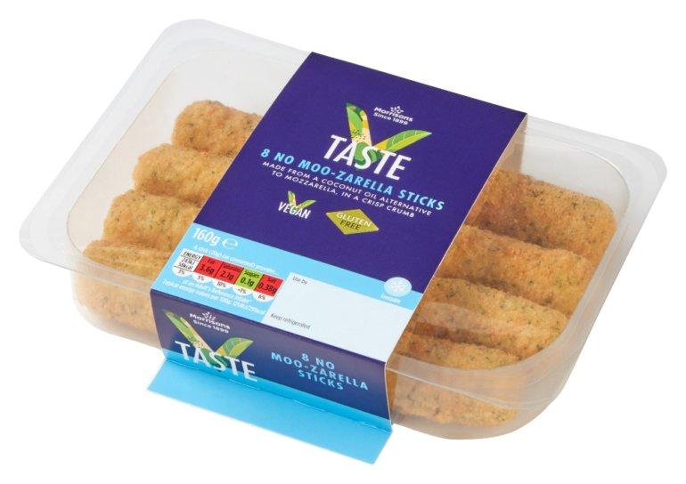 Morrisons Vegan Cheese Sticks