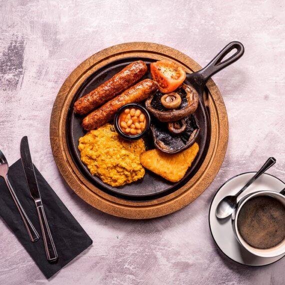 VEGAN chiquito breakfast