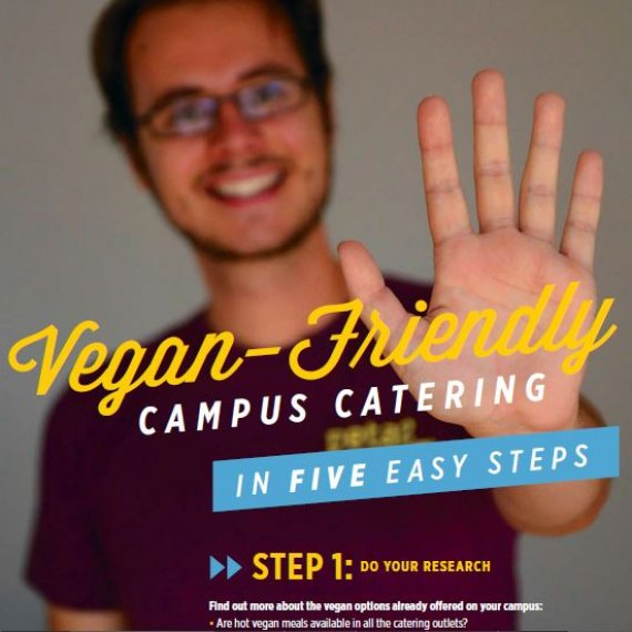 Students, Find Out How to Get More Vegan Options on Your Campus