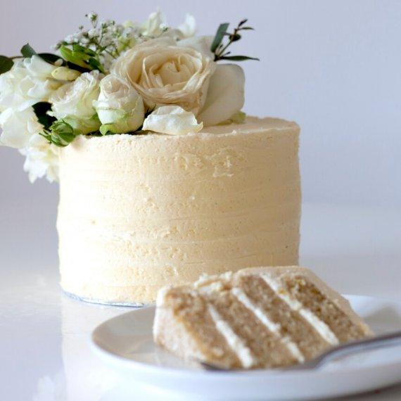 Royal Lemon and Elderflower Cake