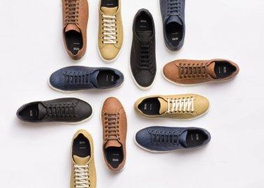 Hugo Boss Takes Pineapple Leather Mainstream