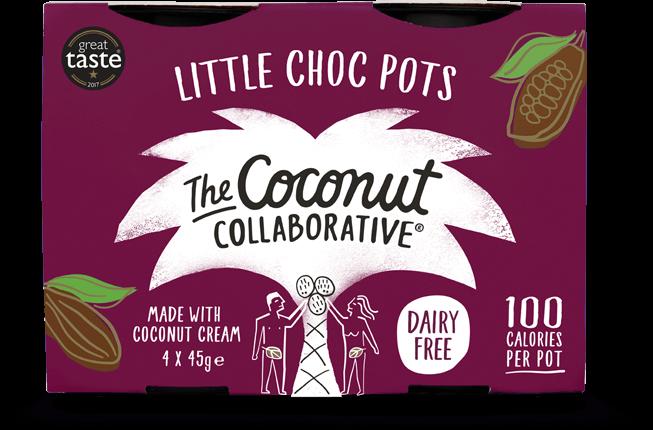 Vegan Chocolate The Coconut Collaborative Little Choc Pots