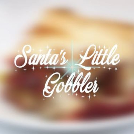 Santa's Little Gobbler Christmas Pie