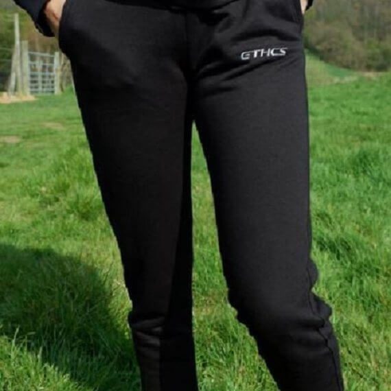 Ethcs Sweatpants in black