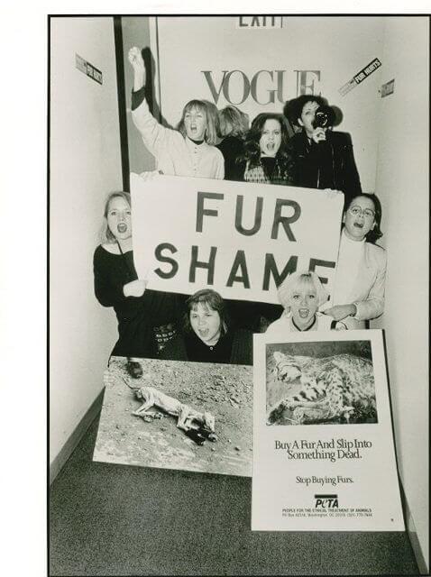 Vogue fur shame