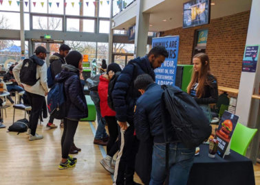 Students Call On Meat-Eaters to 'Taste the Future'