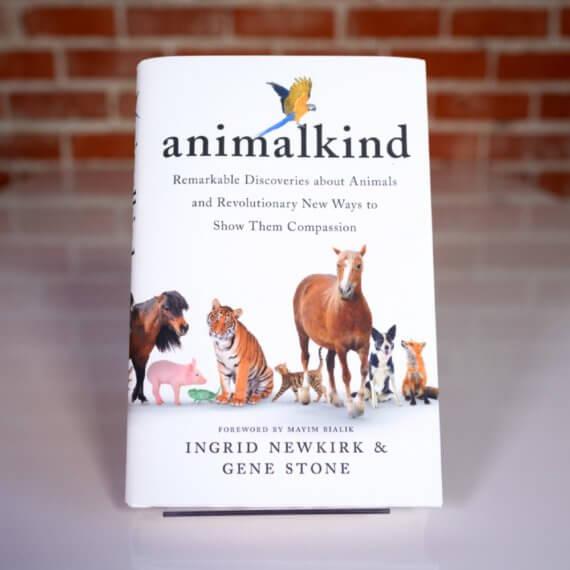 Read Ingrid Newkirk's New Book, 'animalkind'