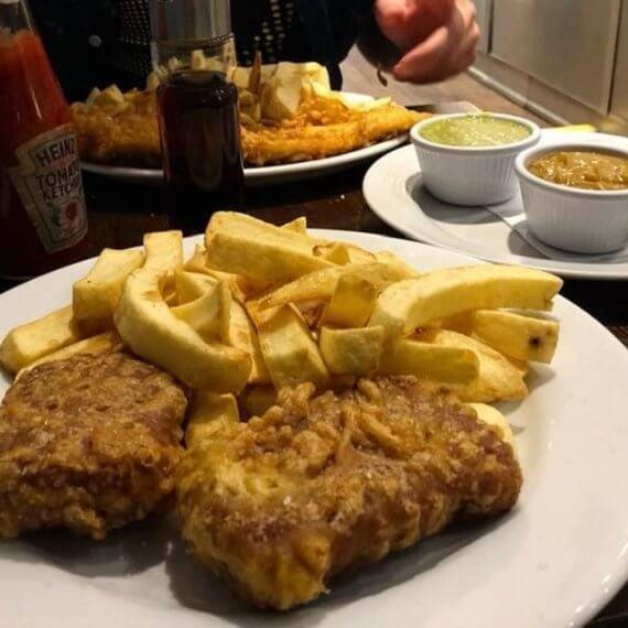 Brockley's Rock Vegan Fish and Chips