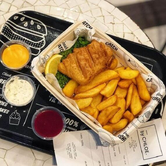 By Chloe Vegan Fish and Chips