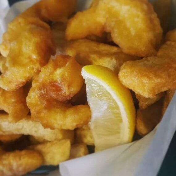 JJ vegan Fish and Chips