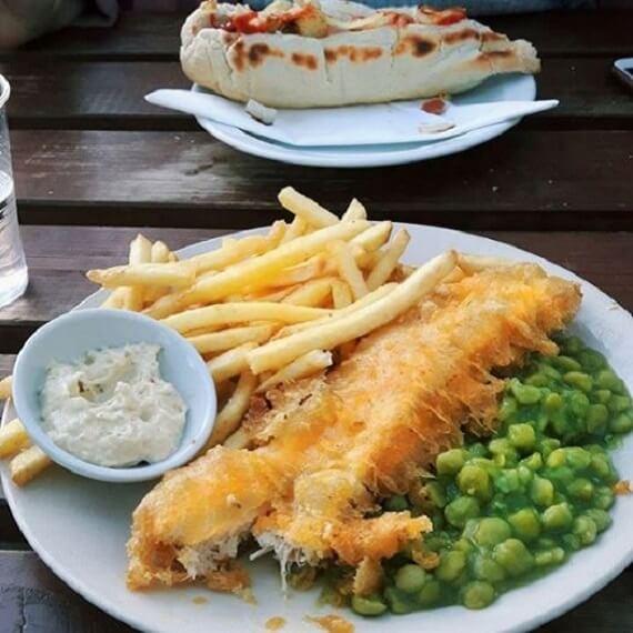 Loving Hut Vegan Fish and Chips