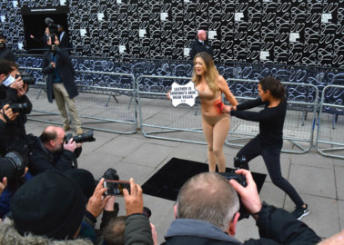 Woman 'Skinned Alive' at London Fashion Week