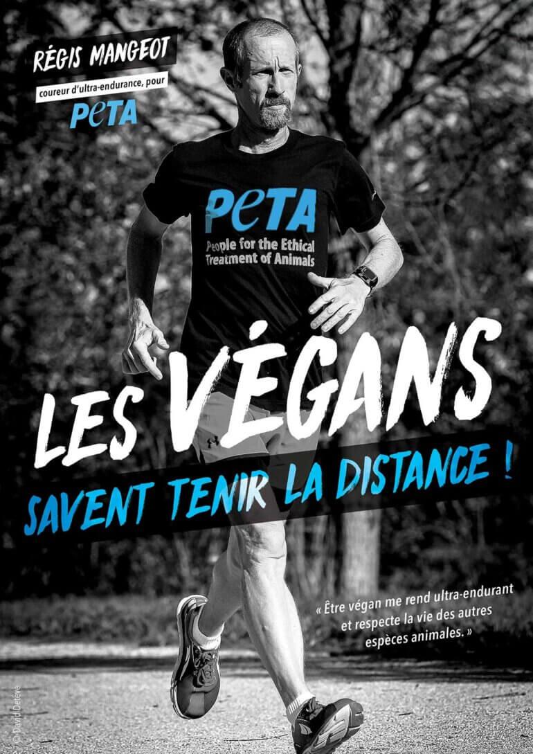Image shows Régis Dinand-Mangeot's ad for PETA France