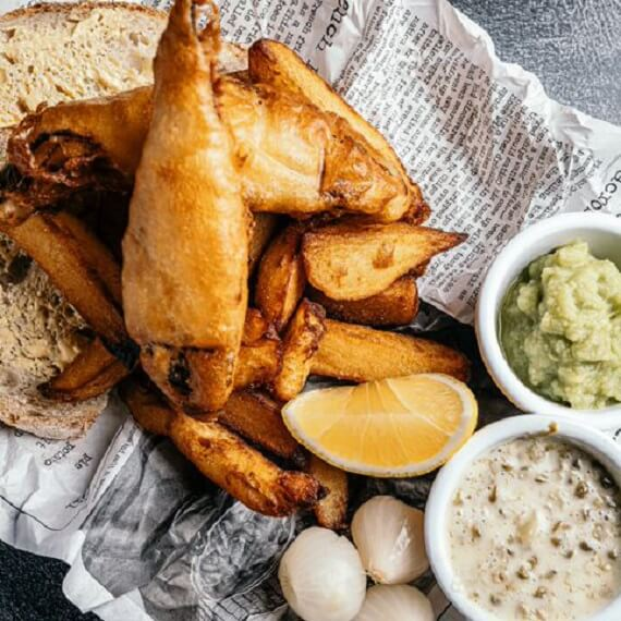 Forgans Broughty Ferry Vegan Fish and Chips