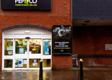 Vegan Ad Blitz Hits 'Poultry Capital of Wales'