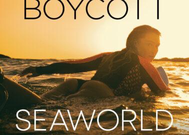 Lucie Donlan Slams SeaWorld in New PETA Campaign