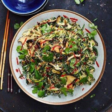Jamie Oliver Vegan Chinese Noodles