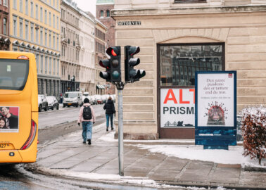 PETA Billboards Call For End to Fur Farming in Italy and Denmark