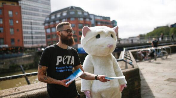 PETA 'Rat' Stands Against Bad Forced Swim Test Science